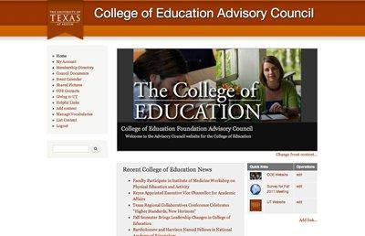 Advisory Council Site