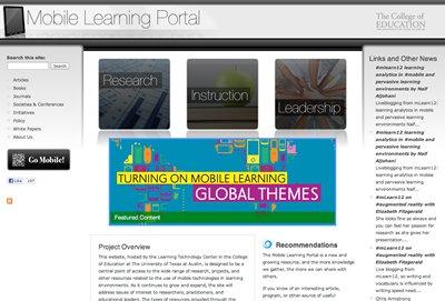 Mobile Learning Portal