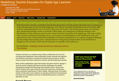 Redefine Teacher Education for Digital Age Learners